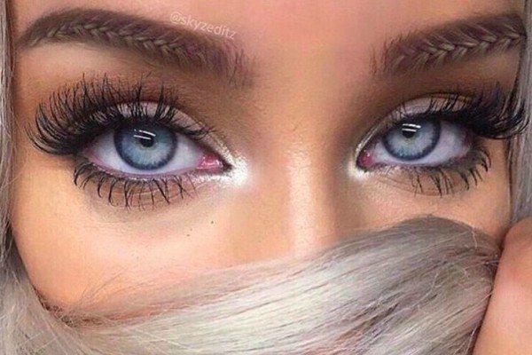 Нов тренд во шминкањето  Веѓи како плетенки