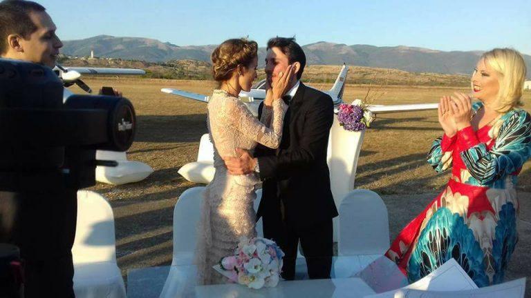 Вака беше на бајковитата венчавка на Каролина и Михаил