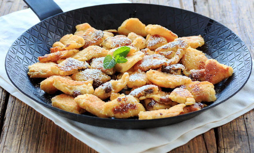 Царски омлет  Австриски палачинки готови за 10 минути